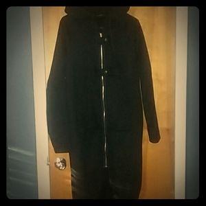 Very unique full length zip up hoodie
